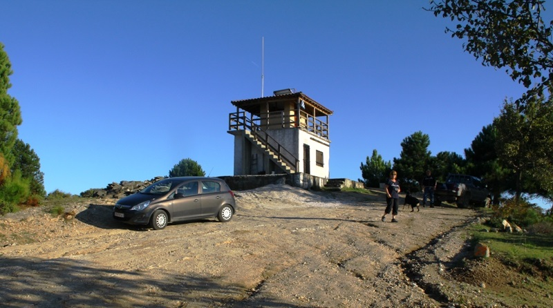 Fire tower Sithonia