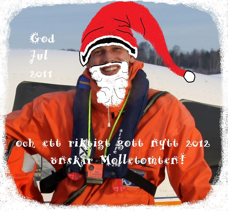 Molletomten önskar god jul 2011